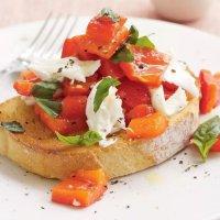 Мини-брускетты для фуршетов | Сыр/овощи/фрукты