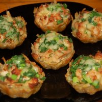 Салаты в тарталетках для Фуршета | Мясо/Птица