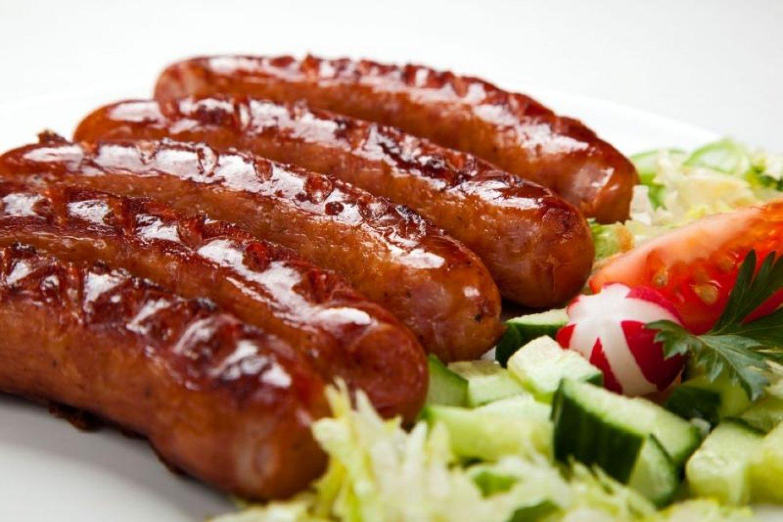 Свиные колбаски