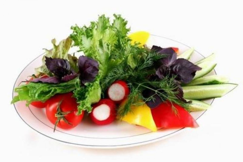 Детская овощная полянка