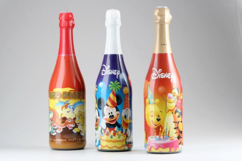 Детское шампанское в ассортименте