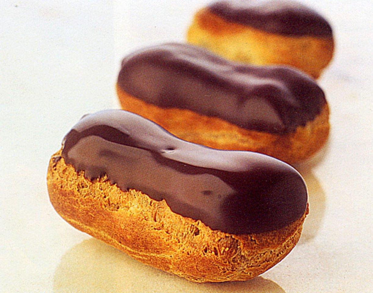 Мини-эклер шоколадный
