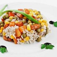 Рис с мини- овощами