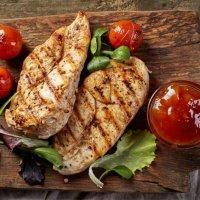 Куриное филе в соусе Барбекю