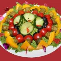 Канапе из маринованных мини - овощей